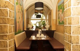 Einblicke Restaurant Athene Frankenberg