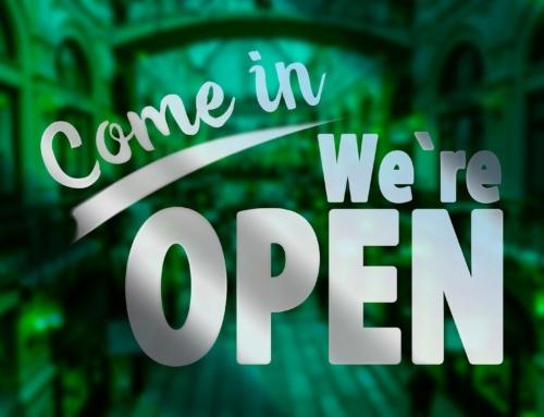 Pfingstmontag ist geöffnet